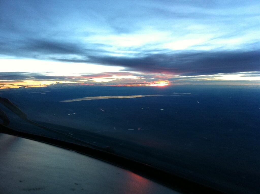 14.11.2010 München - Barcelona | Sunset
