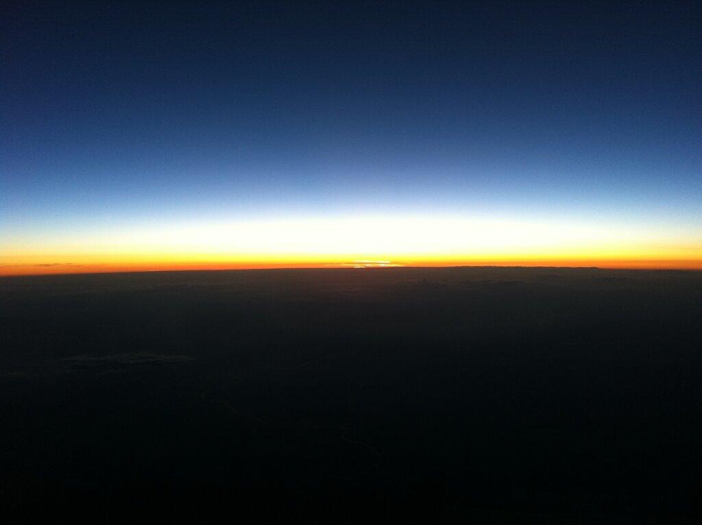 18.04.2011 München - Marseille | Sunset