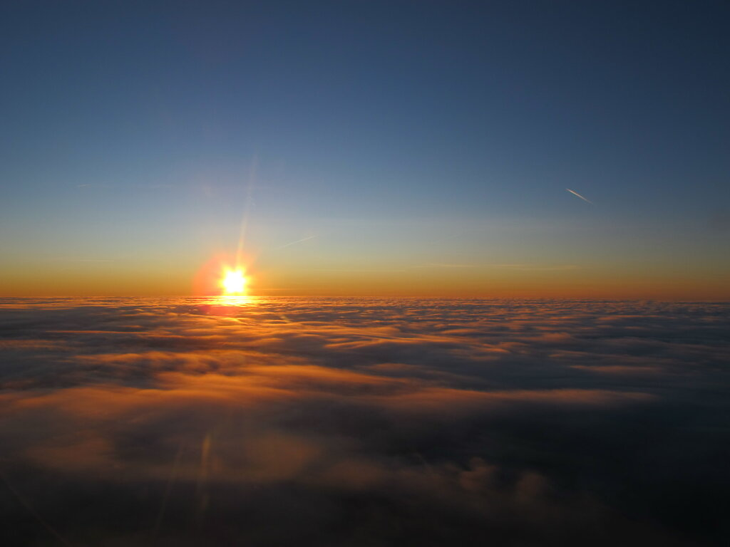 17.11.2011 Leipzig - München | Sunset 2