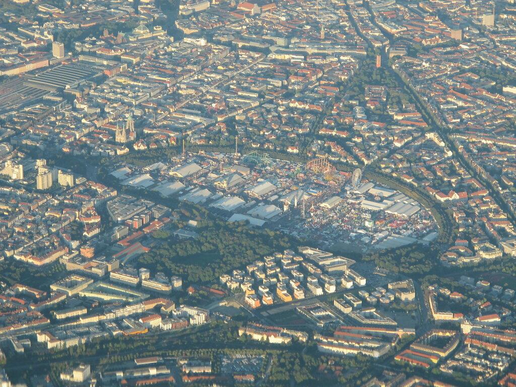 28.09.2012 Nizza - München   Wiesn aus 6.000 ft