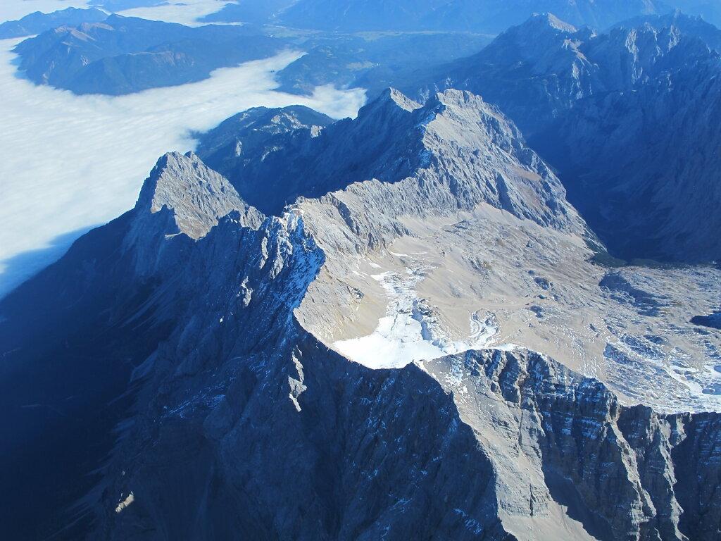 23.10.2012 Bologna - München   Zugspitze - schönster Berg Deutschlands mit Alpspitze