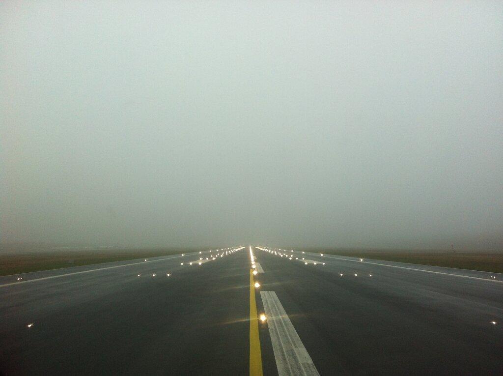 12.11.2012 Nürnberg - München   Runway in's Nichts