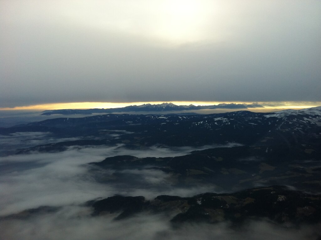 08.01.2013 München - Graz   Alpen