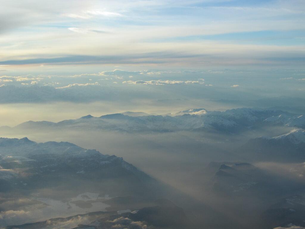 10.04.2013 Venedig - Frankfurt   Alpen 1