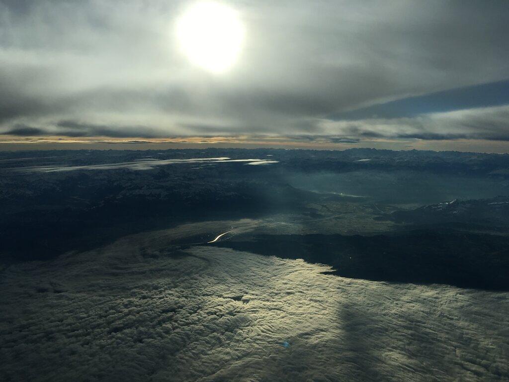 15.12.2015 Basel - München | Das Nebelmeer Bodensee