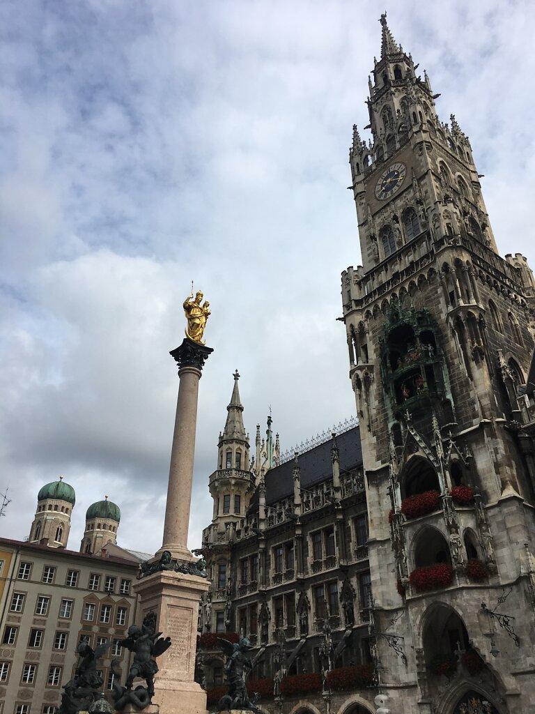21.08.2017 Marienplatz München
