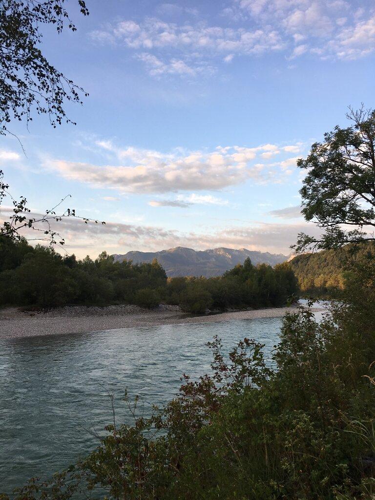23.08.2017 Die Schönheit der Alpen und der Isar