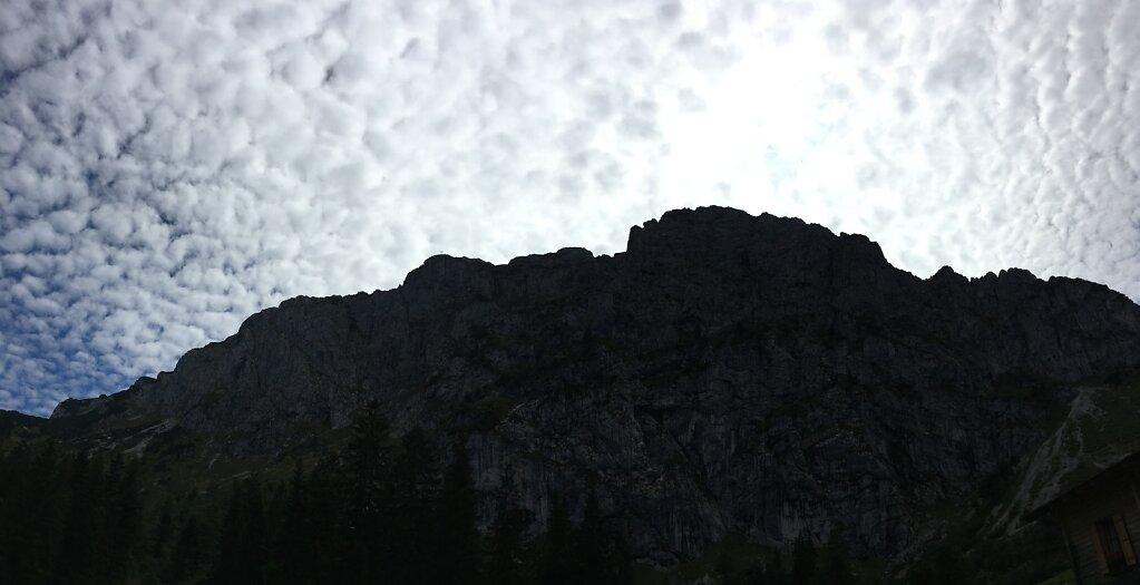 23.08.2017 ...unter Wolken
