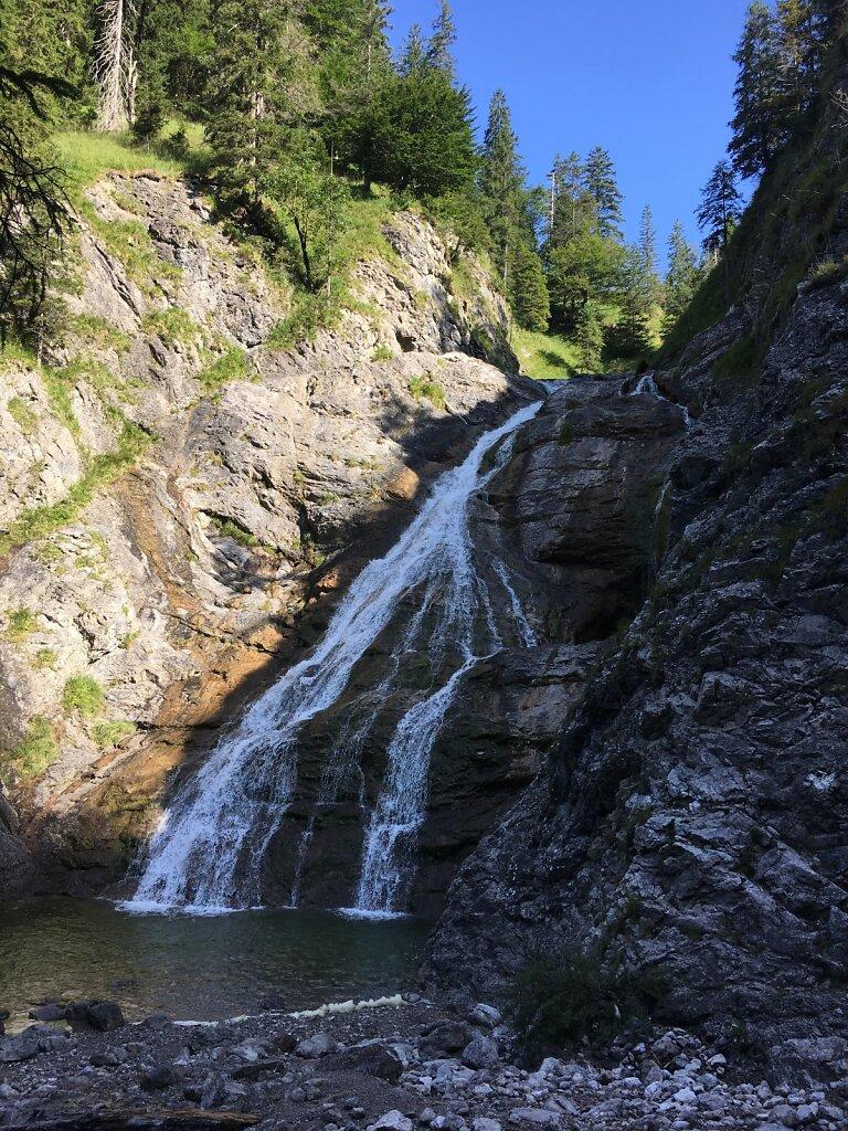 24.08.2017 Jachenau Wasserfall