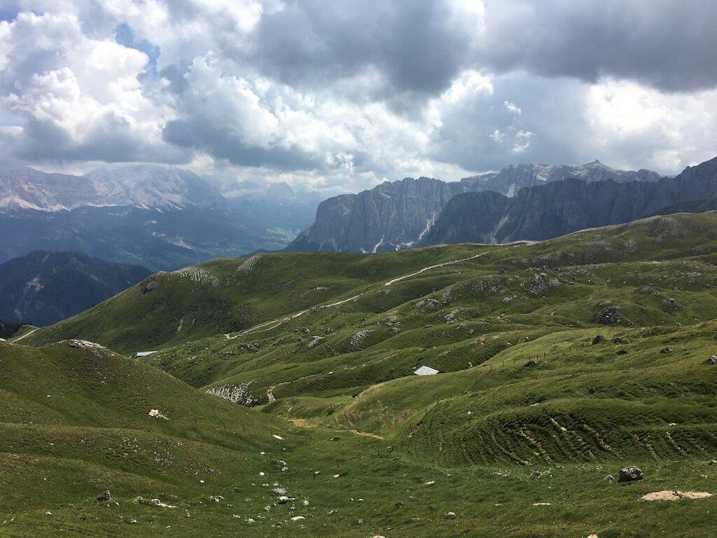 12.08.2018 Die Dolomiten sind erreicht