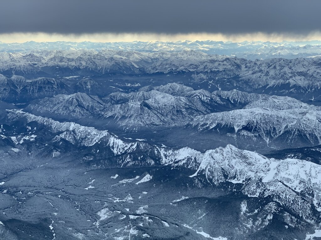 14.11.2019 Zürich - München   Allgäuer Alpen