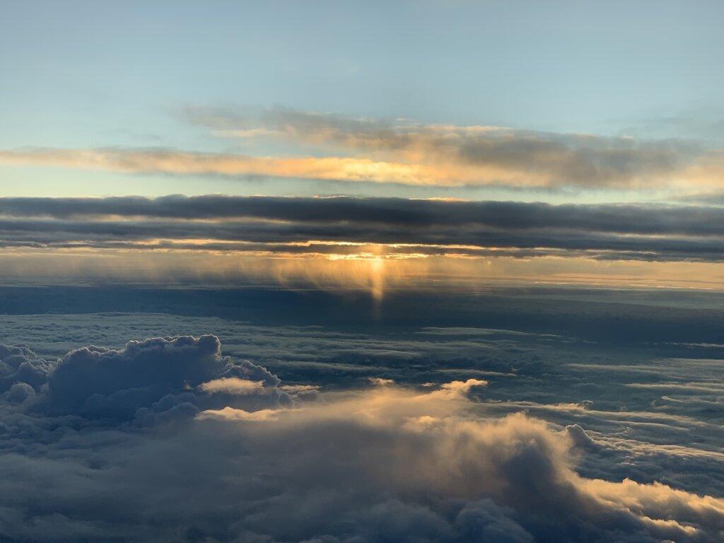 07.10.2020 München - Kopenhagen | Sonnenaufgang über der Ostsee
