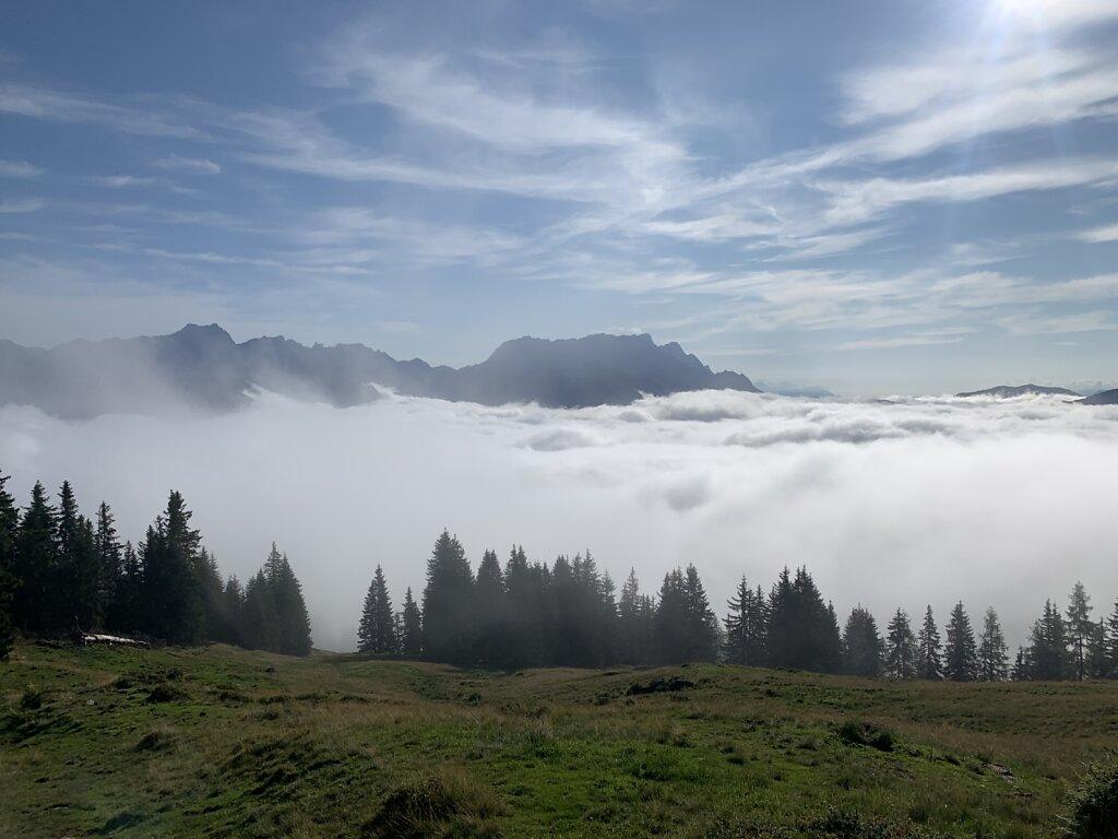 09.08.2021 Die Wolken bezwungen