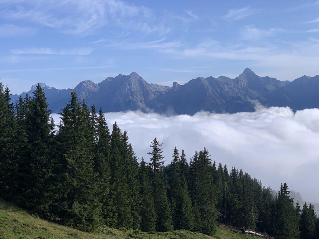 09.08.2021 Über den Wolken...